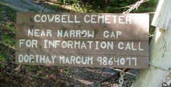 Cow Bell Cemetery