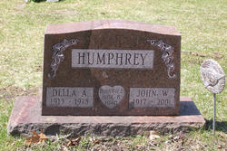 Della A <i>Briggs</i> Humphrey