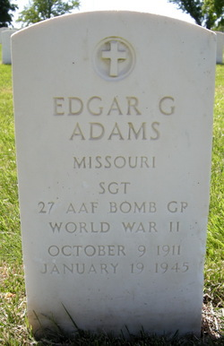 Sgt Edgar G. Adams