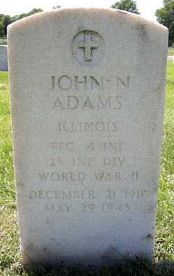 PFC John N. Adams