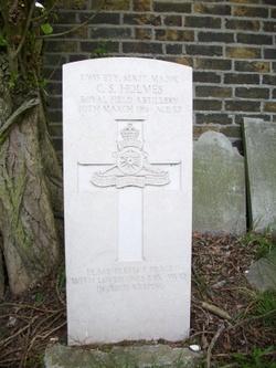 Battery Serjeant Major Charles Samuel Holmes
