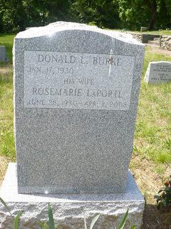 Rosemarie <i>Laporte</i> Burke