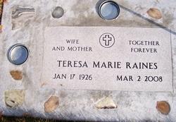 Teresa Marie <i>Hammack</i> Raines