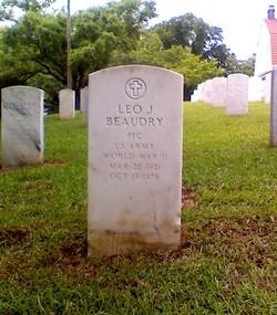 PFC Leo John Beaudry