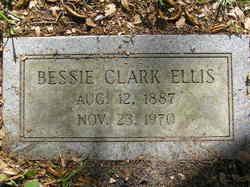 Margaret Elizabeth Bessie <i>Clark</i> Ellis