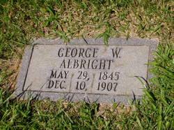 George W Albright