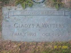Gladys Adele <i>Clark</i> Watters