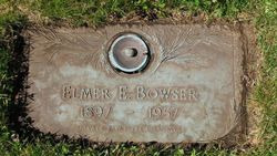 Pvt Elmer Ellsworth Bowser
