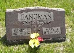 Mary A <i>Eckel</i> Fangman