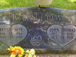 John Thomas Bartlow