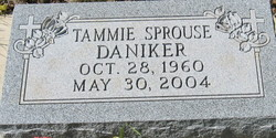 Tammie <i>Sprouse</i> Daniker