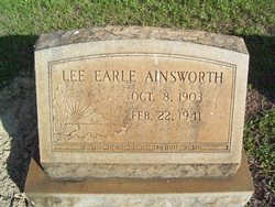Lee Earle Ainsworth
