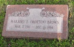 Marjory Ellen <i>Morton</i> Brown