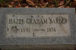 Hazel <i>Graham</i> Barber