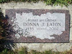Donna Jean <i>Armstrong</i> Eaton