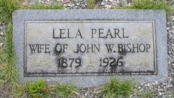 Lela Pearl <i>Hodnett</i> Bishop