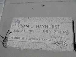 Samuel Jonathan Hayhurst