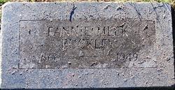 Fannie <i>Meek</i> Buckley