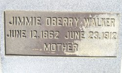 Jemima Edith Jimmie <i>Oberry</i> Walker