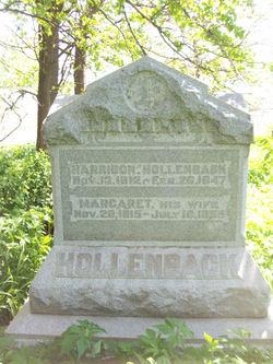 Margaret <i>McClellan</i> Hollenback