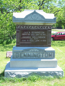 Amanda Jane <i>Hollenback</i> Bennington