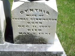 Cynthia Ann <i>Mason</i> Bennington