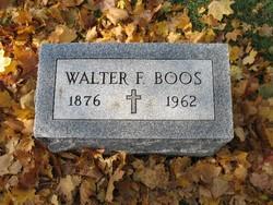 Walter Fredrick. Boos