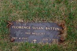 Florence Susan <i>Mellott</i> Battin