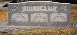 Fred Maxfield Hilliard