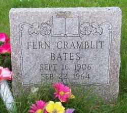 Fern <i>Cramblit</i> Bates