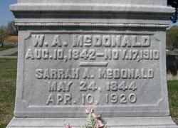Sarrah A. McDonald