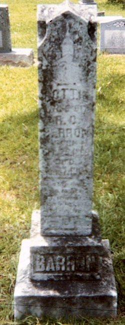 Mary Charlotte Lottie <i>Jones</i> Barron