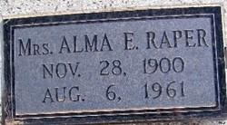 Alma E. <i>Lindemann</i> Raper