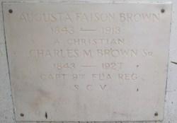 Charles M Brown, Sr