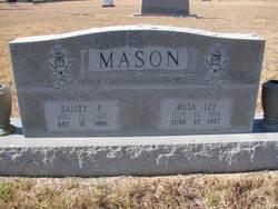 Rosa Lee <i>Edminston</i> Mason