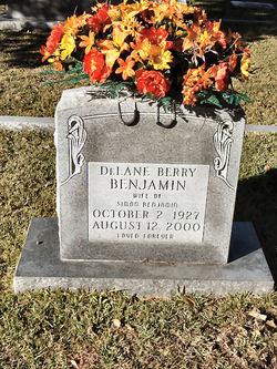Marilyn DeLane <i>Berry</i> Benjamin