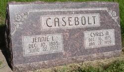 Jennie Leona <i>Bell</i> Casebolt