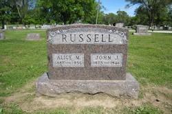 Alice Mattie <i>York</i> Russell