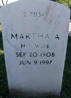 Martha A <i>Semonds</i> Vest