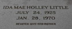 Ida Mae <i>Holley</i> Little