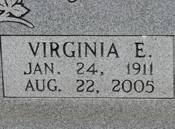 Virginia Elizabeth <i>Hilliard</i> Flowers