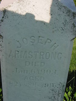 Joseph Squire Armstrong, Sr