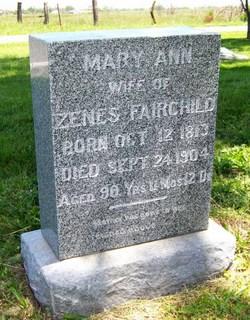 Mary Ann <i>Lineback</i> Fairchild