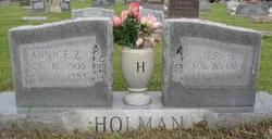 Annice Zora <i>Ford</i> Holman