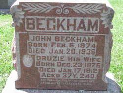 Drucie A <i>McLaughlin</i> Beckham