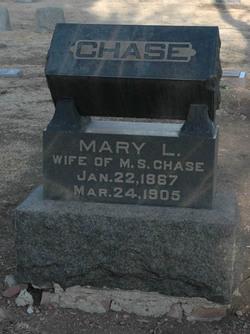 Mary L <i>Hale</i> Chase