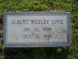 Albert Wesley Love