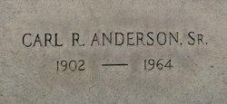 Carl Robert Anderson, Sr
