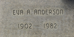 Eva A. <i>George</i> Anderson