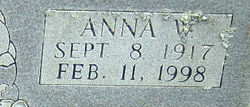 Anna <i>Washburn</i> Biddix